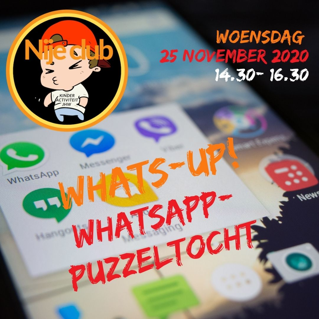 whats up whatsapp puzzeltocht