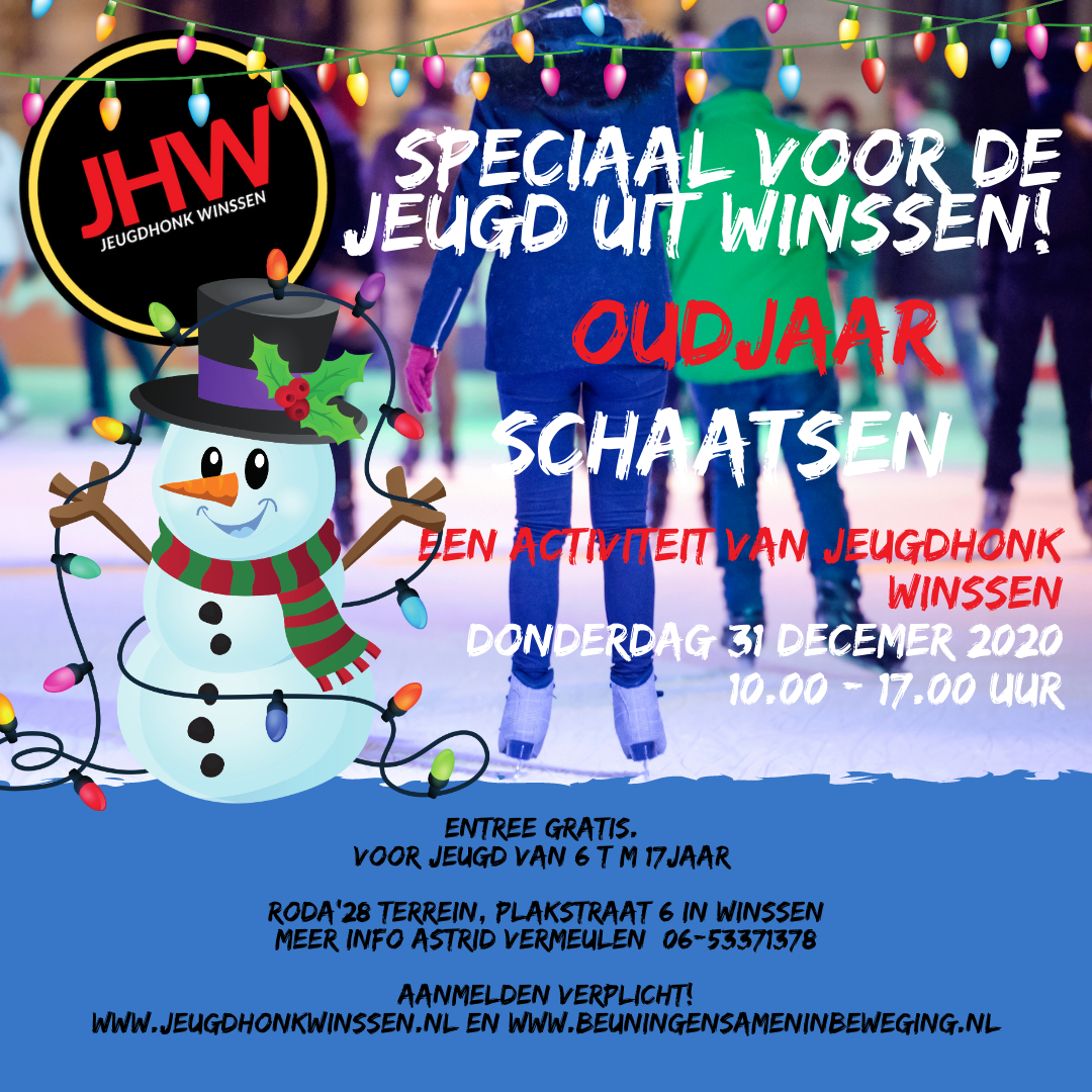 pop up schaatsbaan